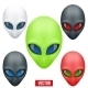 Set of Alien Head Creature from Another World - GraphicRiver Item for Sale