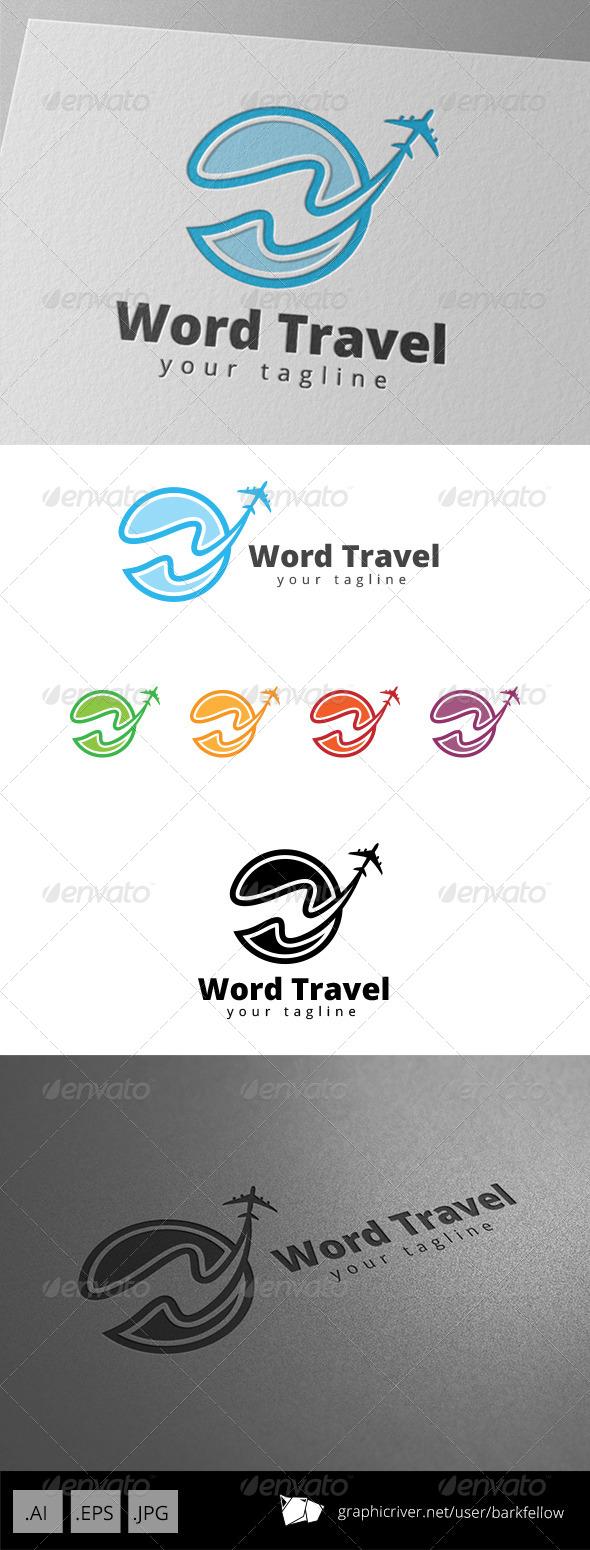 GraphicRiver World Travel Logo 8716074