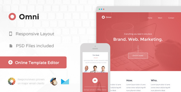 ThemeForest Omni Responsive Email & Themebuilder Access 8716080