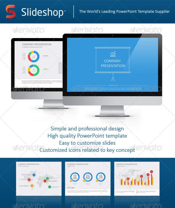 GraphicRiver Company Presentation Flat 8716115