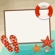 Summer Frame with Beach Symbols - GraphicRiver Item for Sale