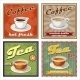 Vintage Coffee and Tea Poster - GraphicRiver Item for Sale