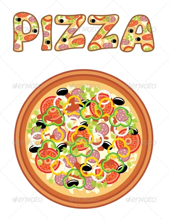 GraphicRiver Pizza 8716715
