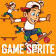 Skater Boy Game Sprite - GraphicRiver Item for Sale
