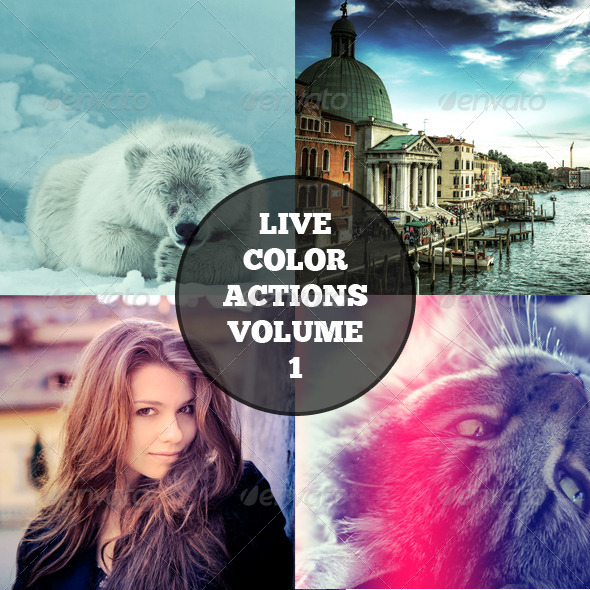 GraphicRiver Live Color Actions Vol 1 8679501