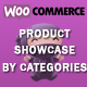 WooCommerce Product Showcase By Categories