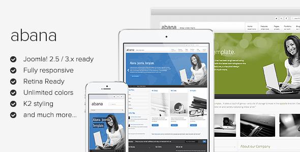 Abana - Responsive Joomla Template - Screenshot 01 - Abana Responsive Jomsocial Ready Joomla Template