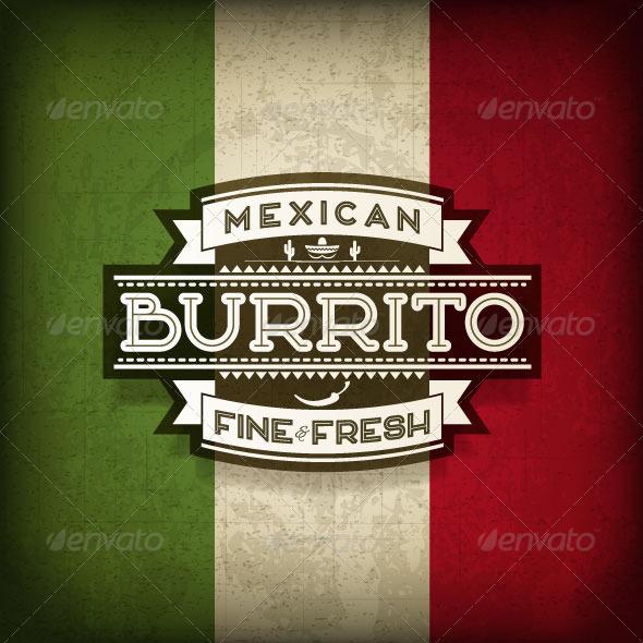 GraphicRiver Burrito 8717380