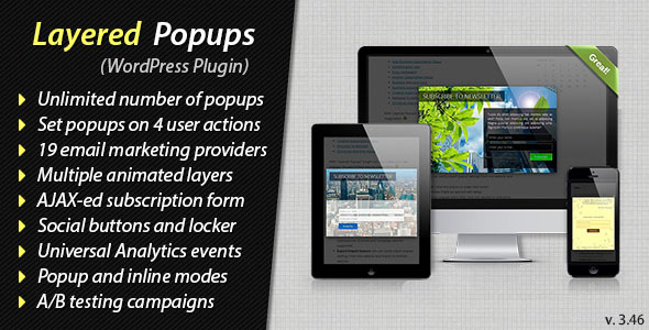 Layered Popups for WordPress - CodeCanyon Item for Sale