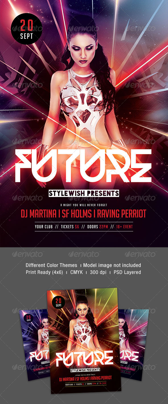 GraphicRiver Future Flyer 8717641