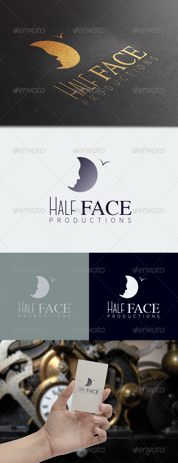 GraphicRiver Half Face Logo Template 8717721