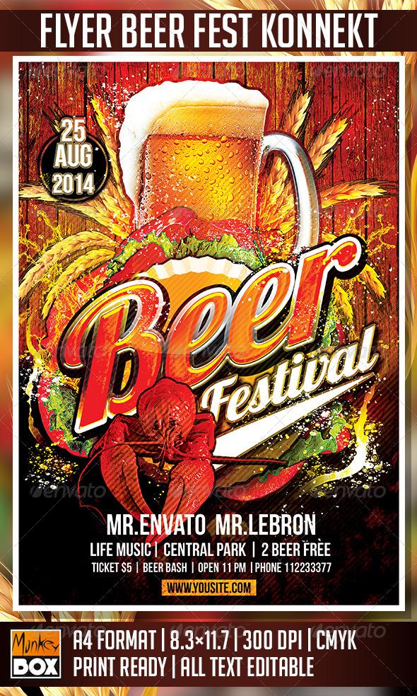 GraphicRiver Flyer Beer Festival Konnekt 8717773