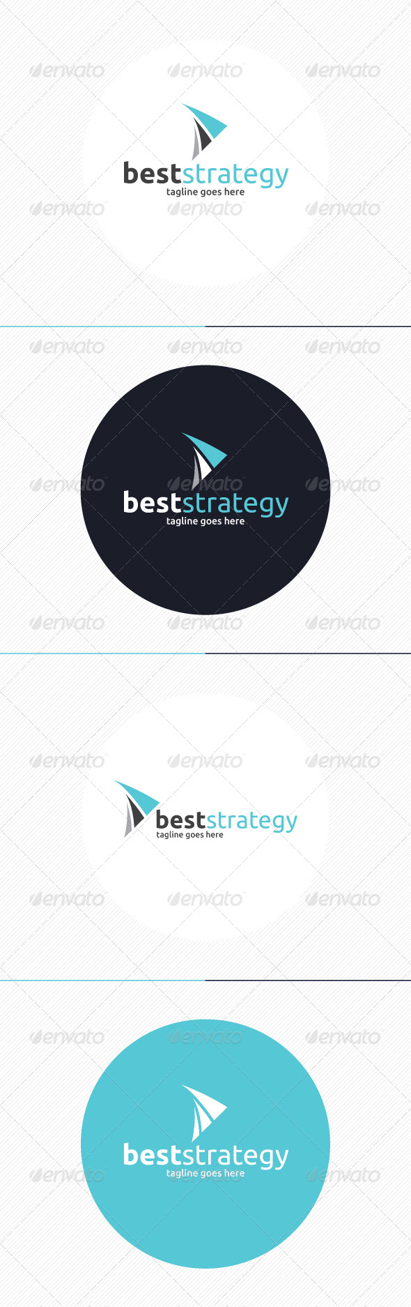 GraphicRiver Best Strategy Logo 8718046