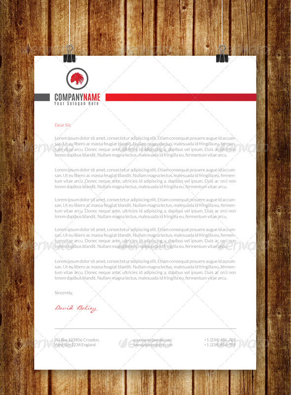 GraphicRiver Creative Corporate Letterhead V3 8718055