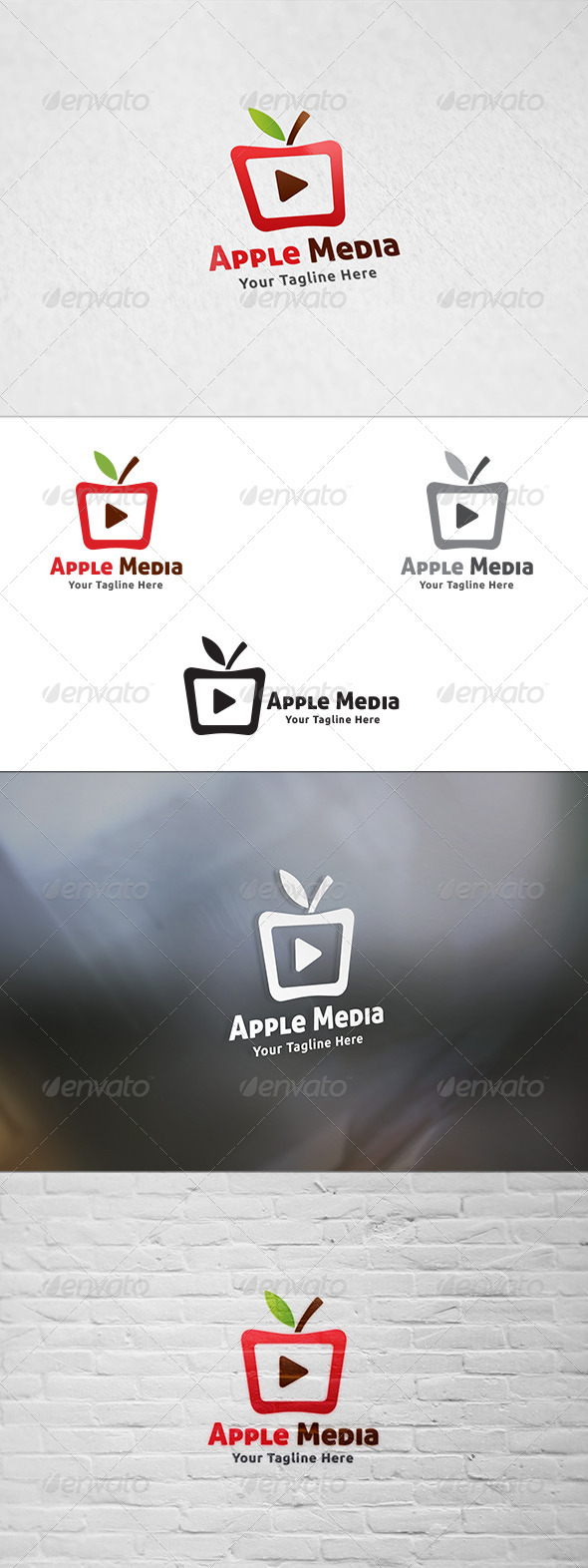 GraphicRiver Apple Media Logo Template 8718175