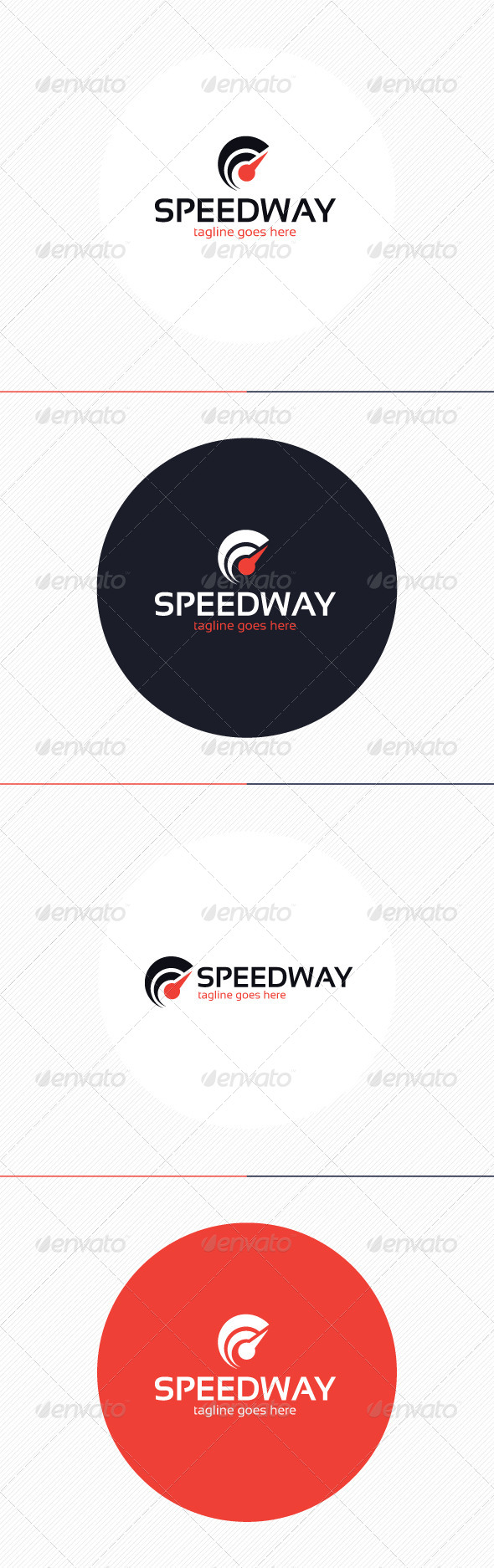 GraphicRiver Speed Way Logo 8718178