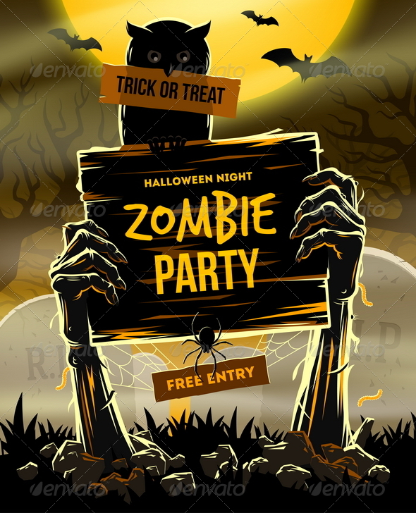GraphicRiver Halloween Vector Illustration 8718326