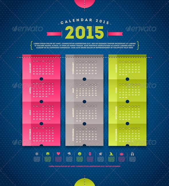 GraphicRiver Calendar 2015 8718791