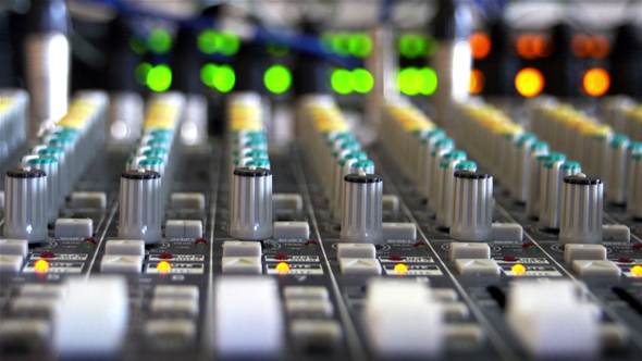 Audio Mixer Interface