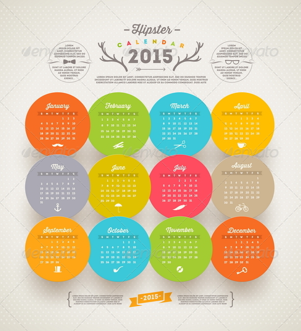 GraphicRiver Calendar 2015 8718815