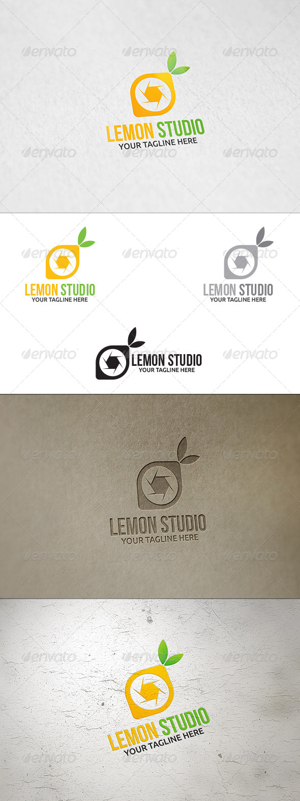 GraphicRiver Lemon Studio Logo Template 8718817