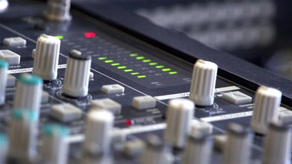 Audio Mixer Master Level