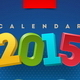 Calendar 2015 Vector Template - GraphicRiver Item for Sale
