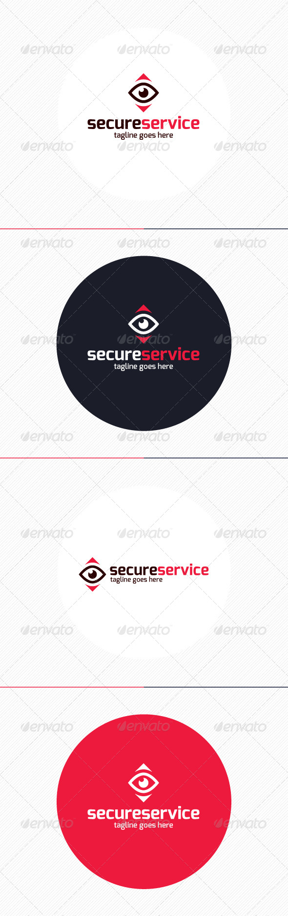 GraphicRiver Secure Service Logo 8719000