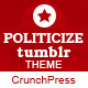 Politicize - Political Responsive Tumblr Theme - ThemeForest Item for Sale
