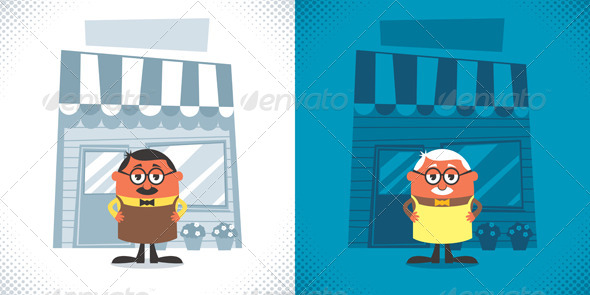 GraphicRiver Shopkeeper 8719030