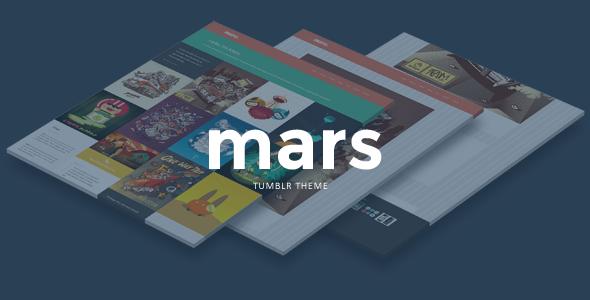 Mars Portfolio Theme