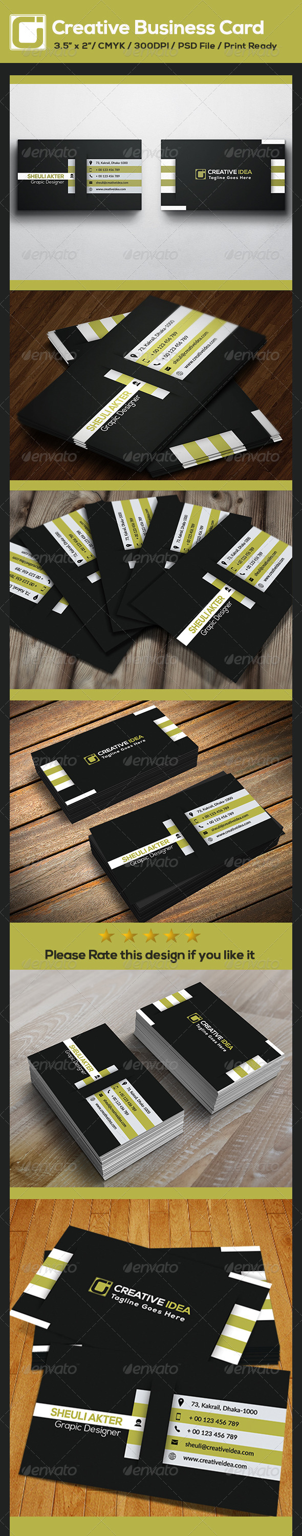 GraphicRiver Creative Business Card 8719075