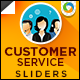 Customer Service Sliders - GraphicRiver Item for Sale