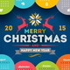Calendar 2015 with Christmas Type Design - GraphicRiver Item for Sale