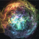 Spherical Nebula In The Space - VideoHive Item for Sale