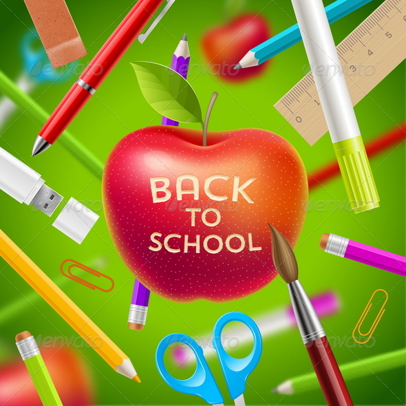 GraphicRiver Back to School Illustration 8719598