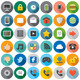 Interface Flat Icons. - GraphicRiver Item for Sale