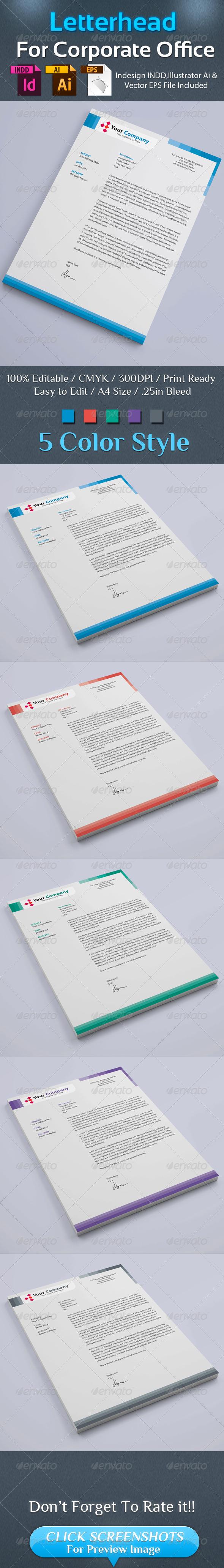 GraphicRiver Corporate Letterhead 02 8719801