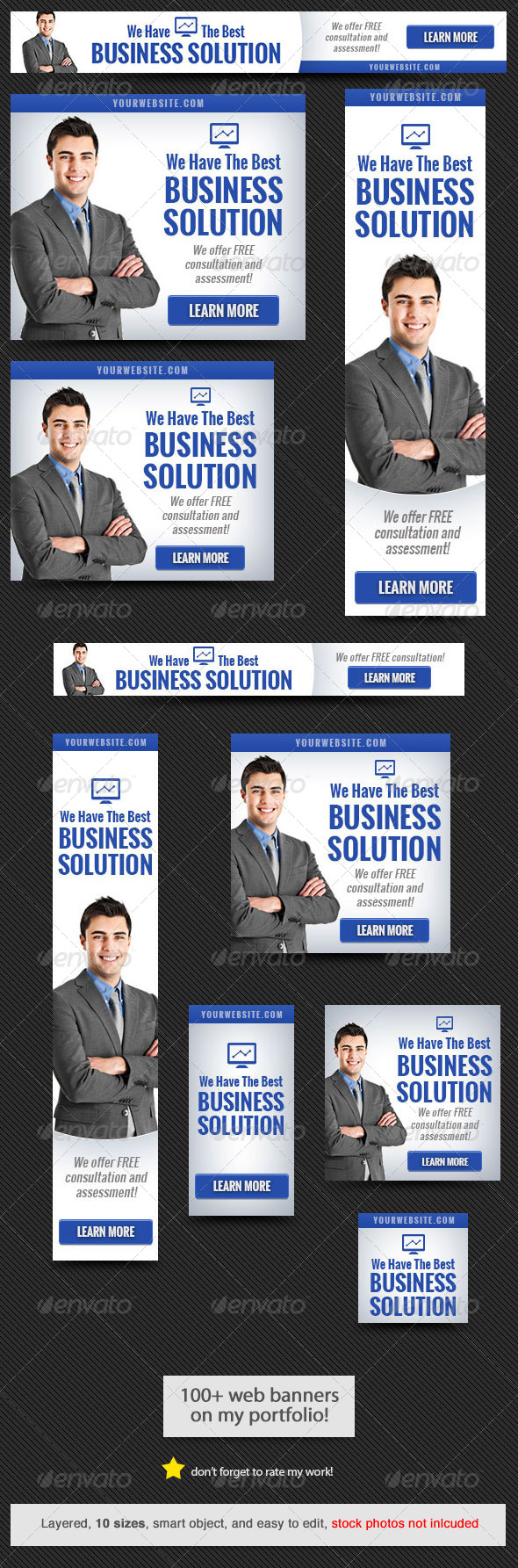 GraphicRiver Corporate Web Banner Design Template 49 8720142