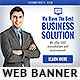 Corporate Web Banner Design Template 49 - GraphicRiver Item for Sale