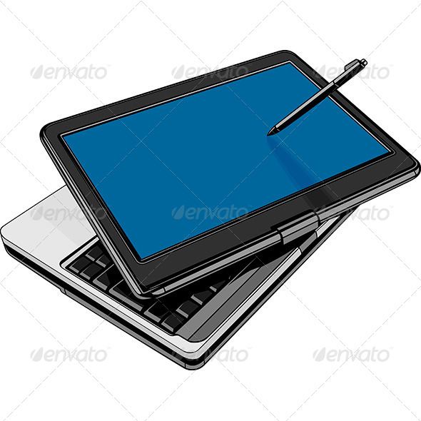 GraphicRiver Modern Laptop 8720586