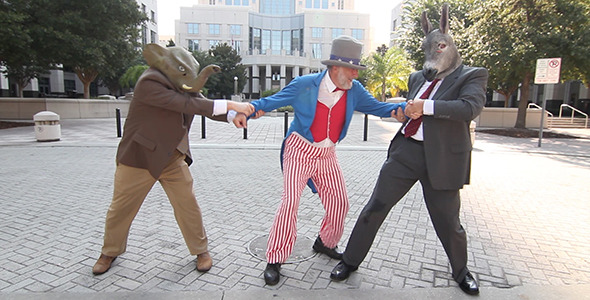Politicians Pull Uncle Sam