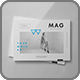 Horizontal Magazine Brochure Mock-up II - GraphicRiver Item for Sale