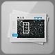 Horizontal Letter Magazine / Brochure Mock-up 2 - GraphicRiver Item for Sale