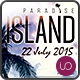 Paradise Island • Summer Party Flyer - GraphicRiver Item for Sale
