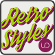 Vintage Retro Styles - Vol.1 - GraphicRiver Item for Sale