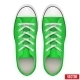 Pair of Green Simple Sneakers - GraphicRiver Item for Sale