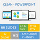 Clean-Powerpoint template - GraphicRiver Item for Sale