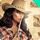 Wild West Cowgirls Flyer - GraphicRiver Item for Sale