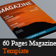 60 Pages Magazine Templates - GraphicRiver Item for Sale